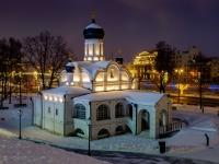 Tverskoy district, temple Зачатия праведной Анны,  , house 3