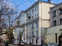 Хамовники район, улица 10 лет Октября, дом 9. многоквартирный дом