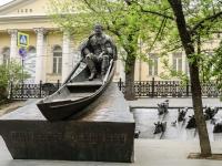 Khamovniki District, blvd Gogolevskiy. monument