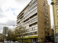 Хамовники район, улица Льва Толстого, дом 3. многоквартирный дом