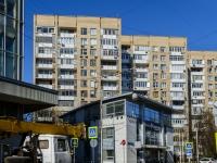 Хамовники район, улица Льва Толстого, дом 7. многоквартирный дом