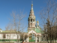 Khamovniki District, 寺庙 Святителя Николая в Хамовниках,  , 房屋 1/2СТР1
