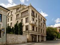 Khamovniki District, alley Molochny, house 7. Apartment house
