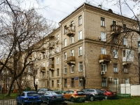 Khamovniki District, alley Serpov, house 3-5. Apartment house