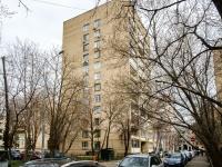 Khamovniki District, alley Serpov, house 5. Apartment house