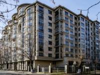Khamovniki District, st Trubetskaya, house 10. Apartment house