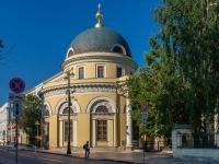 Якиманка, улица Большая Ордынка, дом 20. храм Иконы Божией Матери Всех Скорбящих Радость на Большой Ордынке