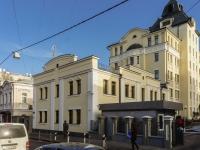 Якиманка, Старомонетный переулок, дом 37. офисное здание