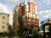 Якиманка, Спасоналивковский 1-й переулок, дом 20. многоквартирный дом