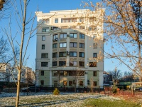 Якиманка, Погорельский переулок, дом 5 к.2. многоквартирный дом