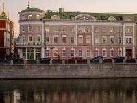 Якиманка, набережная Кадашевская, дом 14 к.3. офисное здание Pass, бизнес-центр
