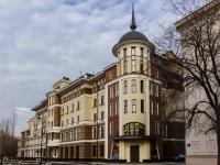 Лаврушинский переулок, дом 11 к.1. многоквартирный дом