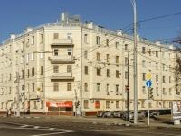Якиманка, улица Серафимовича, дом 5. многоквартирный дом