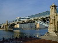 Якиманка, мост Пушкинский улица Крымский Вал, мост Пушкинский