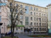 Якиманка, Большой Толмачевский переулок, дом 4. многоквартирный дом