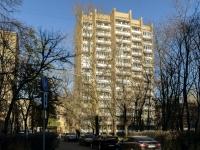 Якиманка, улица Академика Петровского, дом 3. многоквартирный дом