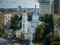 Якиманка, храм Живоначальной Троицы на Шаболовке, улица Шаболовка, дом 21 с.1