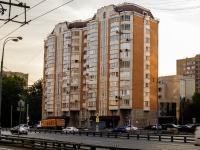 район Беговой, улица Беговая, дом 6. многоквартирный дом
