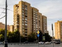 район Беговой, улица Беговая, дом 28. многоквартирный дом