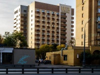 """Беговой район, улица Беговая Аллея, дом 11. Гостиничный комплекс """"Бега"""""""