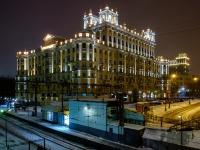 Беговой район, Ленинградский проспект, дом 1. многоквартирный дом