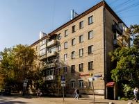 Беговой район, улица Скаковая, дом 34 к.1. многоквартирный дом