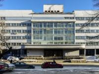 Беговой район, улица Правды, дом 24. офисное здание