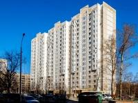 Левобережный район, проезд Валдайский, дом 9А к.1. многоквартирный дом