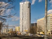 Левобережный район, Ленинградское шоссе, дом 108. многоквартирный дом