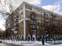 Сокол район, Чапаевский переулок, дом 8. многоквартирный дом