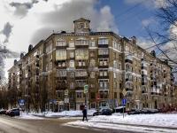 Сокол район, Чапаевский переулок, дом 12 к.3. многоквартирный дом