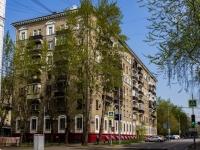 Сокол район, Чапаевский переулок, дом 16. многоквартирный дом
