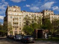 Сокол район, Ленинградский проспект, дом 59. многоквартирный дом
