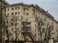 Сокол район, Ленинградский проспект, дом 65. многоквартирный дом