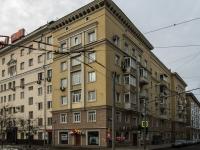 Сокол район, Ленинградский проспект, дом 67 к.1. многоквартирный дом