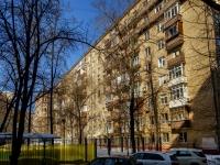 Сокол район, Ленинградский проспект, дом 75Б. многоквартирный дом