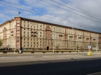 Сокол район, Ленинградский проспект, дом 75 к.1. многоквартирный дом