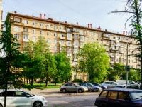 Тимирязевский район, улица Всеволода Вишневского, дом 10. многоквартирный дом