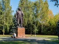 Тимирязевский район, улица Лиственничная аллея. памятник В.И. Ленину