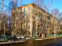 Тимирязевский район, проезд Локомотивный, дом 7. многоквартирный дом