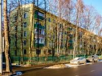 Тимирязевский район, проезд Локомотивный, дом 9. многоквартирный дом