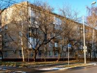 Тимирязевский район, проезд Локомотивный, дом 15. многоквартирный дом