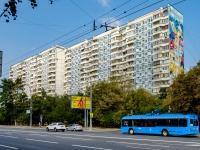 Хорошёвский район, Хорошевское шоссе, дом 22. многоквартирный дом