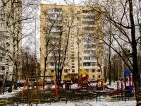 Бабушкинский район, улица Ленская, дом 8 к.1. многоквартирный дом