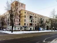 Бабушкинский район, улица Лётчика Бабушкина, дом 21/2. многоквартирный дом