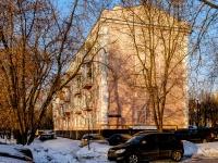 Бабушкинский район, улица Осташковская, дом 13. многоквартирный дом