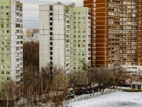 Бабушкинский район, проезд Олонецкий, дом 12. многоквартирный дом