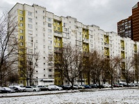Бабушкинский район, улица Староватутинский, дом 15. многоквартирный дом