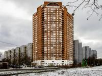 Бабушкинский район, улица Староватутинский, дом 17. многоквартирный дом