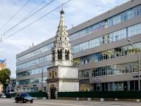 улица Бутырская, дом 56. колокольня  Храма Рождества Пресвятой Богородицы в Бутырской слободе